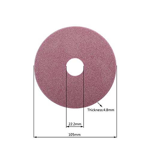 HWYJ Grinding Wheel Electric Chainsaw Sharpener Diamond Grinding Wheel 98/105/145mm Thickness 3.2/4.5mm Edge Cutting and Polishing Chain. Durable (Outer Diameter : 4)