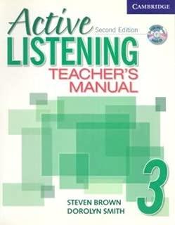 Active Listening 3 Teacher's Manual with Audio CD