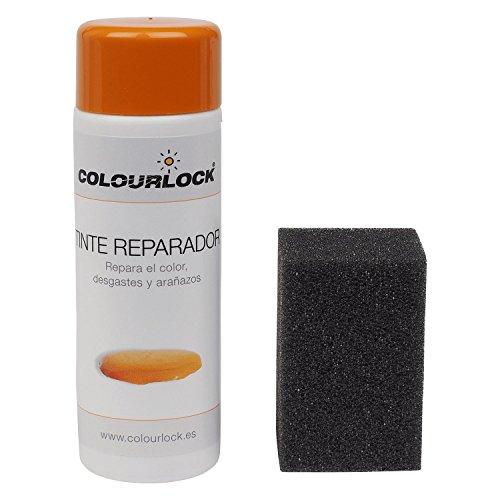 COLOURLOCK Tinte reparador Cuero/Piel F002 (Blanco Roto ESTÁNDAR), 150 ml restaura el Color del Cuero en Coches, sofás, Ropa, Bolsos