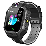 GBD Smart Watch for Kids- Smartwatch Phone with Call Games SOS Alarm Clock 12/24 Hr,Kids Digital Wrist Watch Stopwatch for Boys Girls Children Age 3-12 Learning Toys Birthday Gifts (Black)