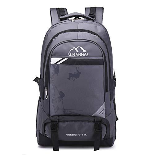 N-B Mochila Impermeable de Gran Capacidad Viaje al Aire Libre Bolsa de montañismo Unisex Bolsa de Equipaje de Viaje Ligera