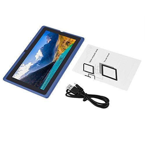 Tableta Q88 Quad Core WiFi de 7 pulgadas, fuente de alimentación USB de 512 MB + 4 GB, duradera y práctica tableta