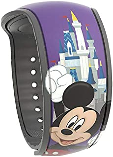 DisneyMagicband 2 Mickey Passholder Limited Release Unlinked Purple Magic Band