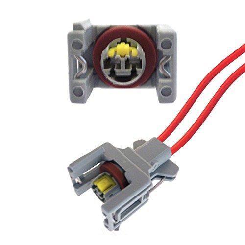 KFZ Ersatz Stecker – Einspritzdüse Diesel – DELPHI DJ70229A-3.5-21 (Female) mit Kabel 240PC024S8014