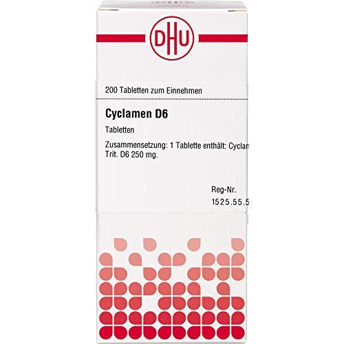DHU Cyclamen D6 Tabletten, 200 St. Tabletten