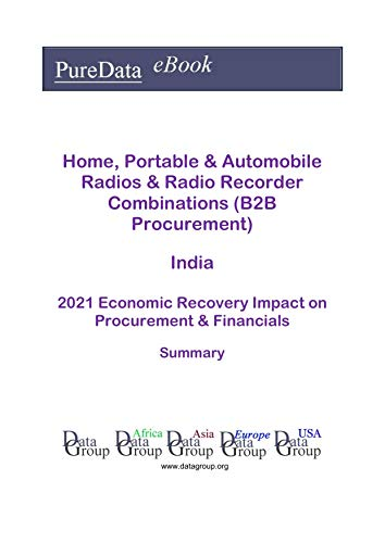 Home, Portable & Automobile Radios & Radio Recorder Combinations (B2B Procurement) India Summary: 2021 Economic Recovery Impact on Revenues & Financials (English Edition)