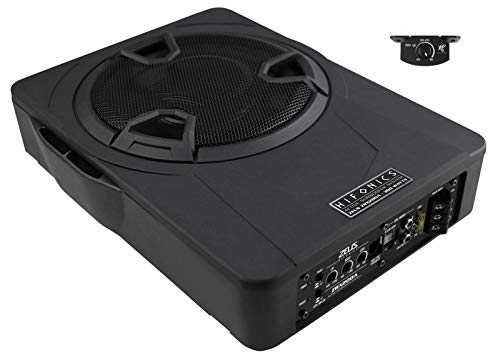 Hifonics ZRX200A | 20 cm Aktiv-Single-Bassreflex Untersitz Subwoofer