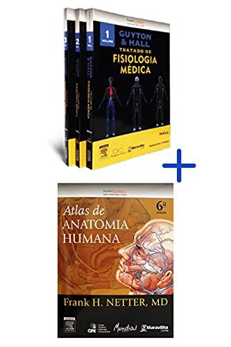 Guyton e Hall - Tratado de Fisiologia Médica 12ª Ed. + Netter - Atlas de Anatomia Humana 6ª Ed.