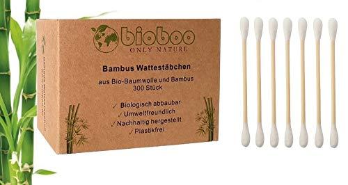 bioboo Bastoncillos de bambú