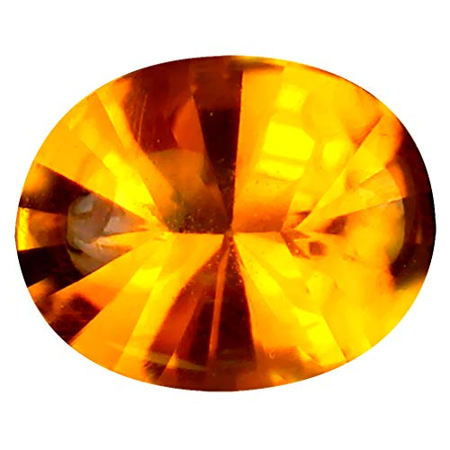 マデイラシトリン ルースストーン 2.62 ct Oval (11 x 9 mm) Unheated/Untreated Brazil Madeira Citrine L...