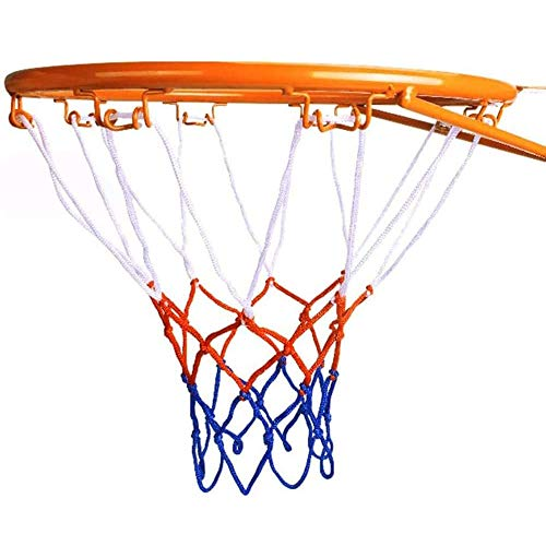 LOVEHOUGE Basketballkorb,Dauerhaft Wandmontage Basketball Goal Hoop Ring Felge Mit Netzwerk Sportspielzeug Für Indoor Outdoor Kinder,32 cm Durchmesser
