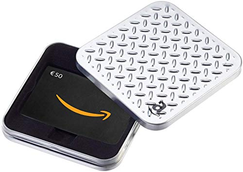 Buono Regalo Amazon.it - €50 (Cofanetto Argenteo)