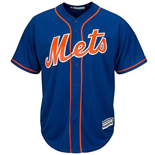 Outerstuff MLB 8-20 Youth Blank Cool Base Alternate Color Team Jersey (Medium 10/12, New York Mets Alternate Blue)