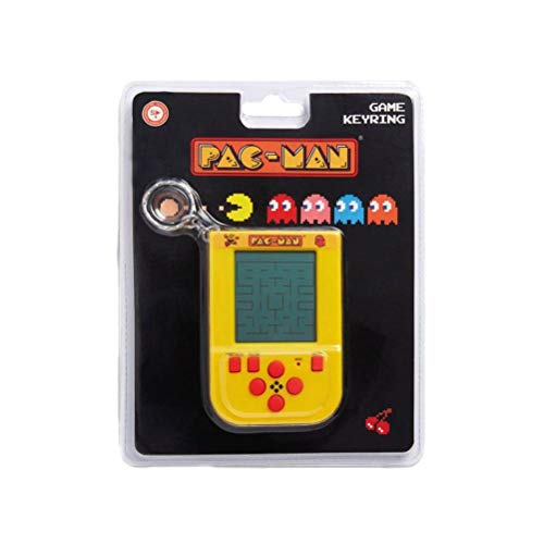 Official Pac-Man Arcade Game Keyring with original sounds and gameplay