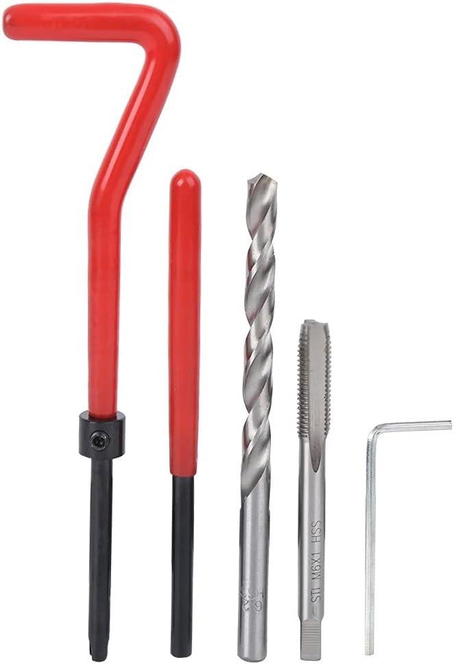 Limited time trial price LWCHJ 25pcs M6 Thread Repair Kit Bit Drill Th Damaged Tap Selling rankings