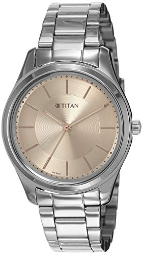 Titan Analog Pink womens Watch 2596SM02