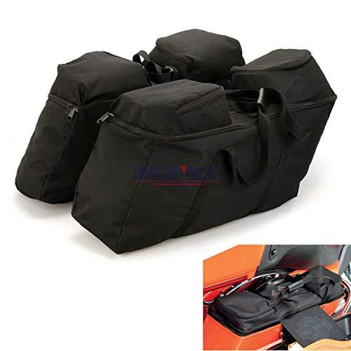 Hard Saddlebag Luggage Bag Tour Pack Soft Liner Bags For Harley Touring Road glide Street glide Electra Glide road King Saddlebag liner 1993-202