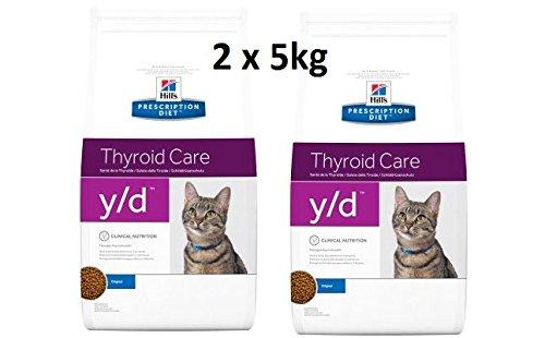 Hills Feline y/d Thyroide Care: 2 x 5kg
