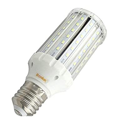 Bonlux LED Corn Light with Medium Screw E40 E39 Base AC 85-265V Daylight White for Garden Street Path Area Lighting Garage Factory Warehouse Barn Porch Backyard Highbay LED Retrofit Bulb