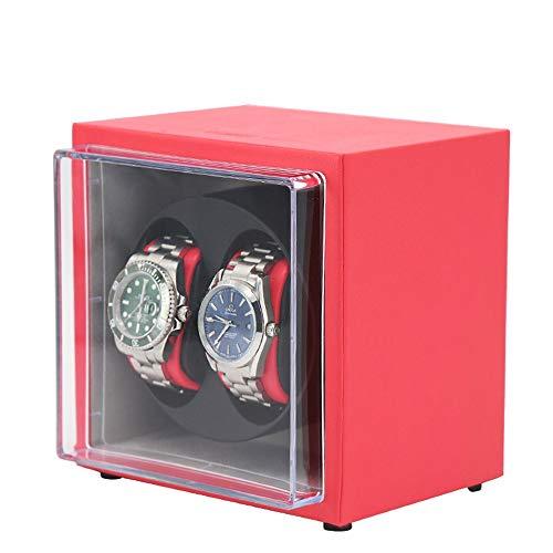 Yuefensu Enrollador de Reloj eléctrico Watch Winder automática de Doble con silencioso...