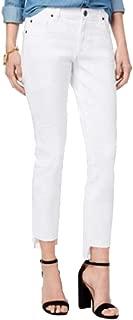 STS Blue Cotton Step-Hem Straight-Leg Jeans