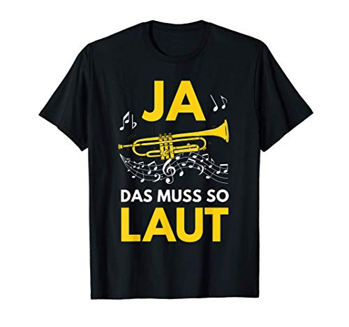 Trompete Orchester Musiker Trompeter Blasmusik Geschenk T-Shirt