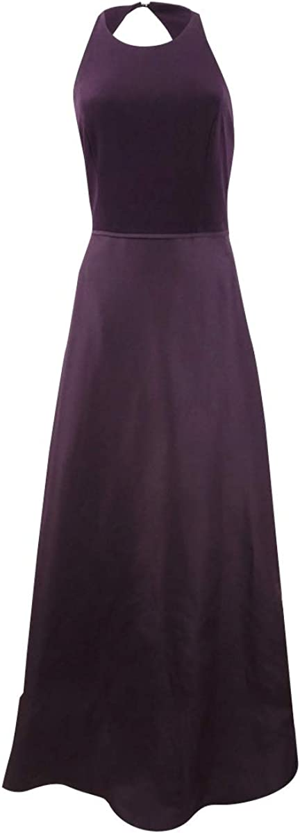 Adrianna Papell Womens Taffeta Sleeveless Evening Dress
