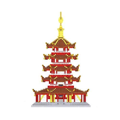 Construcciones Para Niños Bloques De Construcción 3D Para Niños Y Adultos Mayores De 14 Juguetes De Ensamblaje De Rompecabezas: Ilustraciones, Decoración Del Hogar O Coleccionables (más(Color:segundo)