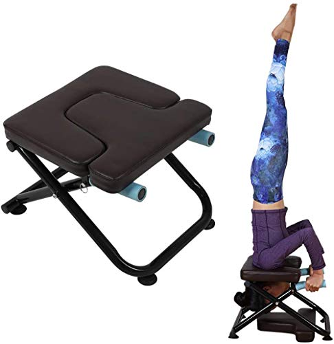 Sale!! VBARV Folding Inversion Chair,Multifunctional Stand Yoga Inversion Chair, Steel Frame,Removab...