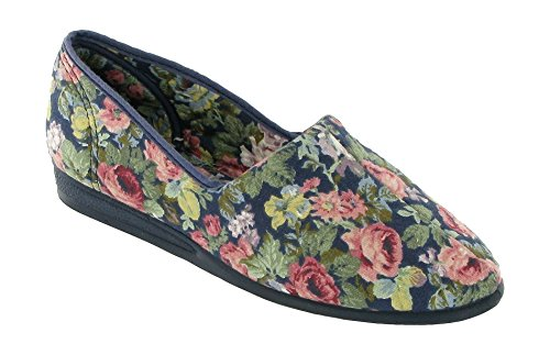 Mirak Patricia Cotton Slip-on Summer Blue Size 7