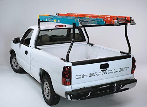 Non-Drilling 800 lb Set Truck Rack, Pick-up Truck Utility Ladder Lumber Pipe Kayak Canoe