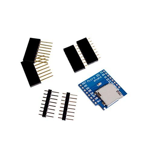 AuBreey Smart Electronics Micro SD Shield for WeMos D1 mini TF module