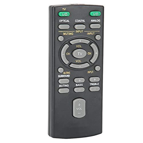 FOLOSAFENAR Reemplazo de Controlador Inteligente inalámbrico Reemplazo de Control Remoto Reemplazo dedicado Duradero portátil, para RM-ANU159, para Sony Bar