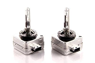 Pair of DDM Tuning HID AC Ultra Bulbs, 20% Brighter, OEM Quality, Lifetime Warranty