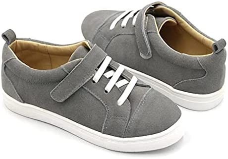 Grey Sneaks with Velcro Strap