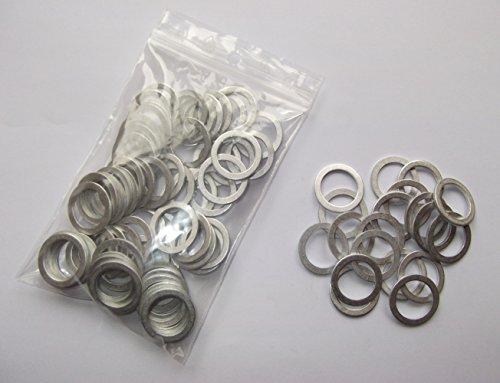 3 Stück Aluminiumring Alu Dichtring Dichtung  18x24x1,5 mm DIN 7603 Form A