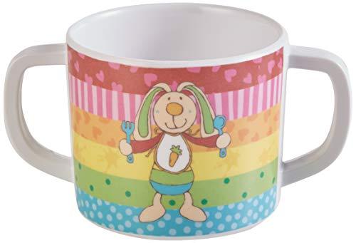 Sigikid 24440 Melamin-Tasse Rainbow Rabbit