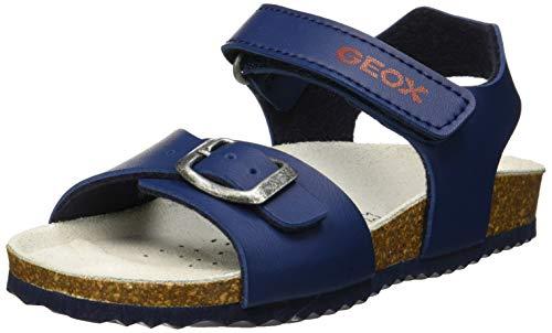 Geox B Sandal CHALKI Boy, Sandalias, Avio C4005, 20 EU