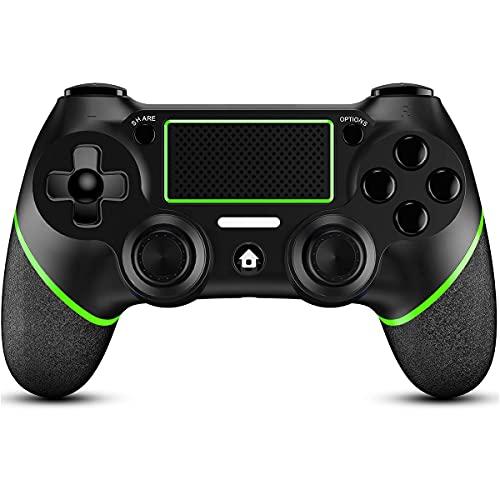 OUKELEE Controller per PS4, Dualshock Joystick PS4, Wireless Gamepad per Playstation 4/Pro/ Slim PC Pannello tattile Joypad con Joystick per Giochi a Doppia Vibrazione TouchPad