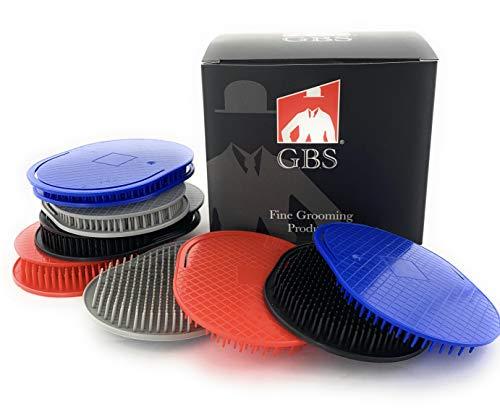 GBS 12pcs Multicolored Shower Brush Portable Hairbrushes Beard Shampoo Brushes Pocket Comb Scalp Brush for Men or Women Head Scrubber Promotes for Hair Growth Multi Use for Women Men Beard