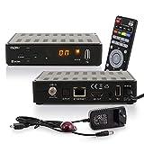 RED OPTICUM Sloth S1 Ultra Sat Receiver mit PVR I Digitaler Satelliten-Receiver HD 1080p - HDMI -...