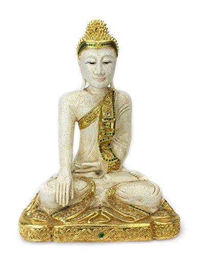 Thai Style Lanna Bouddha assis, Taille L?: environ 63 cm de haut, ssp700