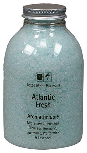Totes Meer Naturbadesalz ATLANTIC FRESH 630 gr. beduftet mit Pfefferminz, Rosmarin, Lavendel und Minze