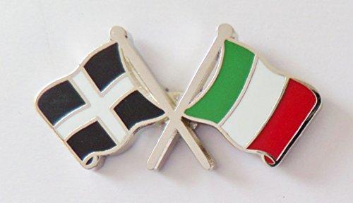 1000 drapeaux du comté des Cornouailles et drapeau de l'Italie