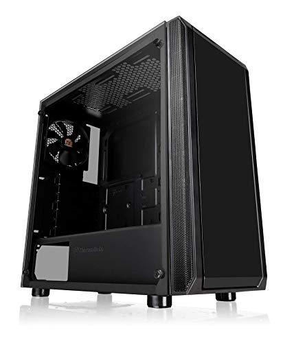 Thermaltake Versa J23 TG Case per Desktop PC, Nero