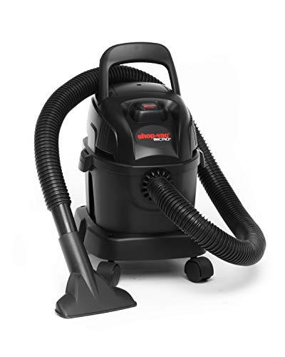 Shop Vac Nass- und Trockensauger Micro 4 Portable (1100 Watt, 4 Liter Kunststofftank, inkl. Zubehör, Wandhalterung) 2020529