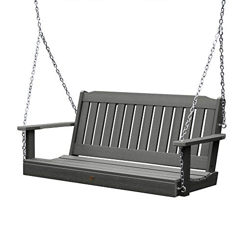 Highwood AD-PORL1-CGE Lehigh Porch Swing, 5 Feet, Coastal Teak