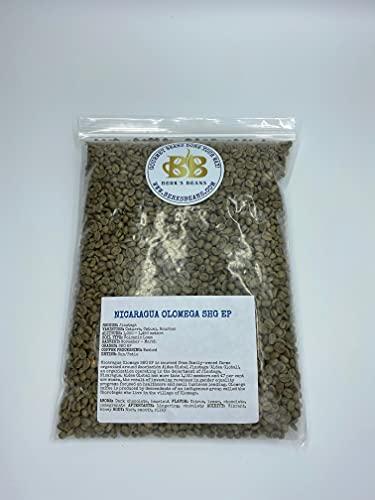 Unroasted Coffee Beans - Bulk (3lbs) (Nicaraguan)