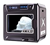 QIDI TECH X-Max Large Size 3D Printer New Model,5 Inch Touchscreen,WiFi Function,High Precision Printing with ABS,PLA,TPU,Flexible Filament,300x250x300mm