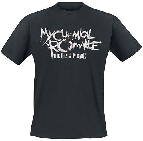 My Chemical Romance Type Fill Black Parade Uomo T-Shirt Nero L 100% Cotone Regular